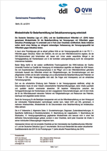 2014 07 03_PM_QVH_DDL_Mindestinhalte_Bedarfsermittlung_Dekubitusversorgung