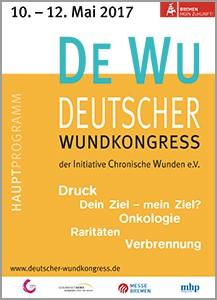 Titel Des Programmheftes des Bremer Wundkongress 2017