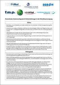 """Titel des PDF """"Gemeinsames Positionspapier zur Dekubitusversorgung"""""""